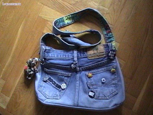 вариант - джинсовая сумка